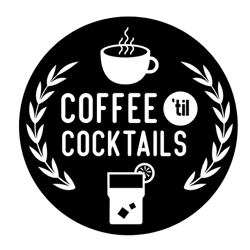 """Coffee 'til Cocktails (12""""x12"""")"""