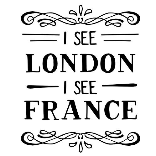 "I see London (12""x12"")"
