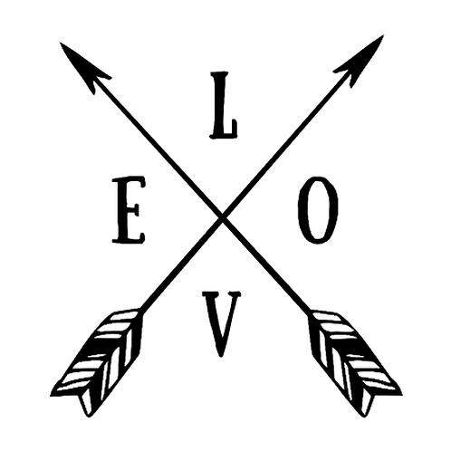 "LOVE arrows (12""x 12"")"