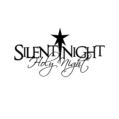 "Silent Night (12""x 24"")"