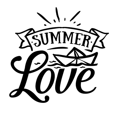 "Summer Love (12""x12)"