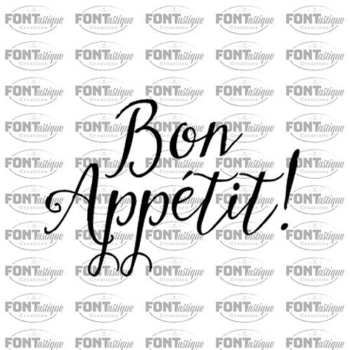 "Bon Appetit (12""x12"")"