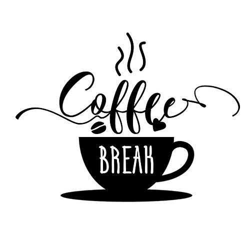 """Coffee Break (12""""x 12"""")"""