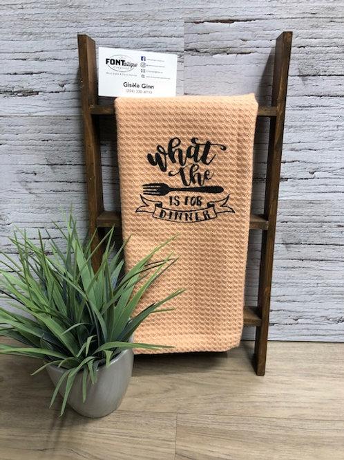 TAKE & MAKE KIT -Tea Towels (set of 3)