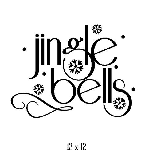 """Jingle Bells (12""""x 12"""")"""