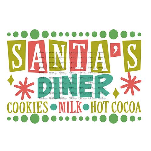 """Santa's Diner (12""""x15"""")"""