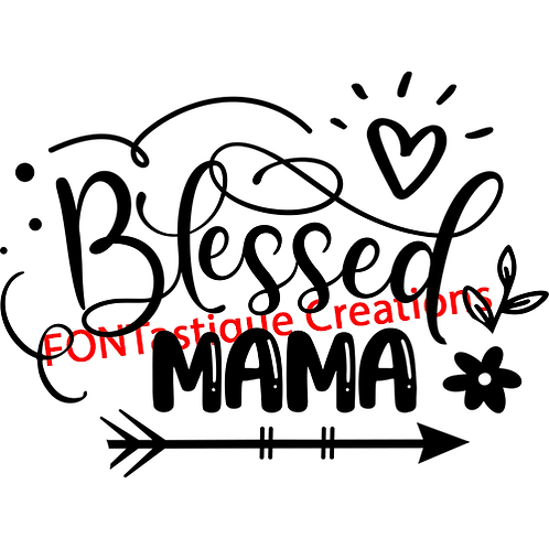 """Blessed Mama (12""""x12"""")"""