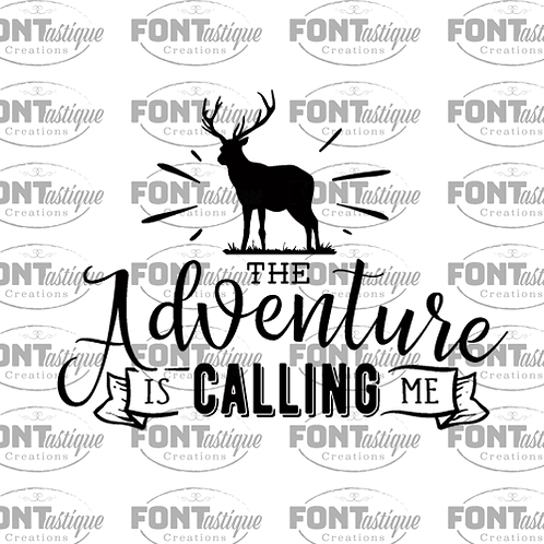 "Adventure Calling Me (12""x12)"