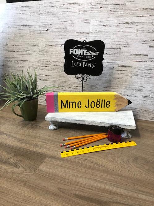 TAKE & MAKE - Wood Pencil Kit