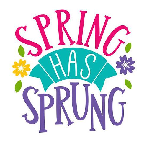 "Spring has Sprung (12""x12"")"