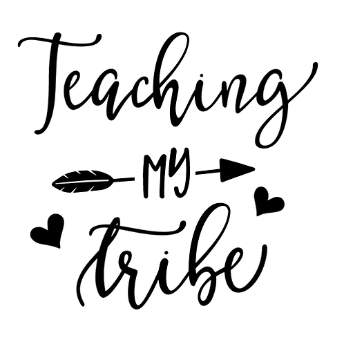 """Teaching my tribe (12""""x12"""")"""