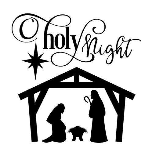 "Holy Night (12""x 12"")"