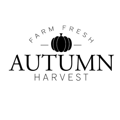 "Farm Fresh Autumn Harvest (12""x 24"")"