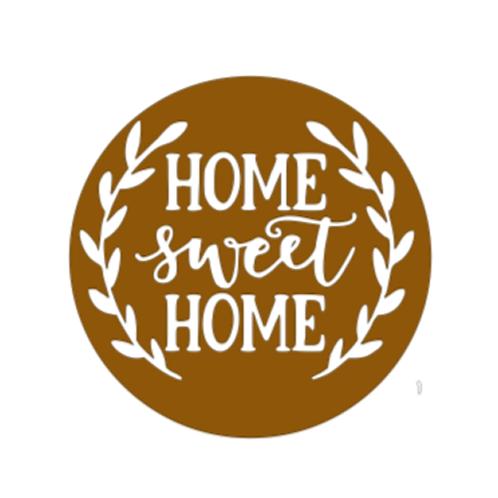 """Front Door Hanger (15"""") - Home Sweet Home"""