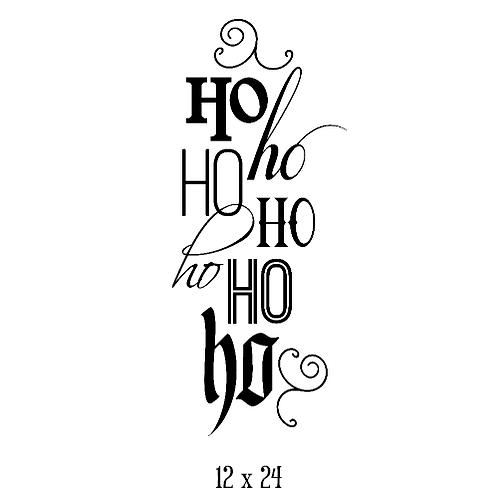 """Ho ho ho... (12""""x 24"""")"""