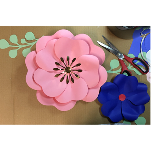 TAKE & MAKE - Paper Flowers and Leaves