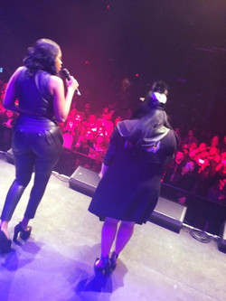Our view at The Fillmore Silver Spring Pretty Hustle Karina Koriss Oliver Stephen Garcia