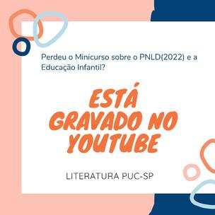 O PNLD e a educação infantil