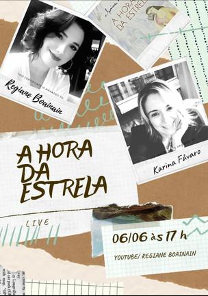 LIVE - Conversa sobre A Hora da Estrela, de Clarice Lispector