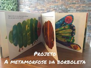 A Metamorfose da borboleta- (Projeto para a Educação Infantil)