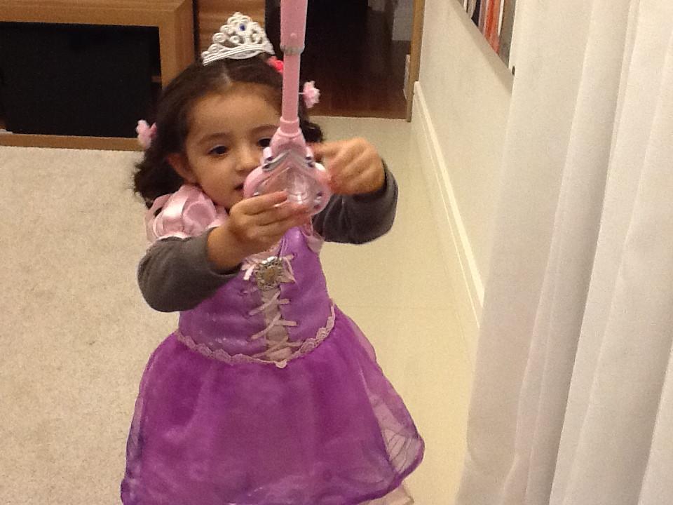 Rapunzel 2 anos
