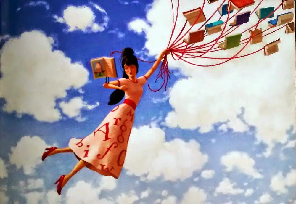 Os fantásticos livros voadores de Modesto Máximo, de William Joyce. Editora Rocco