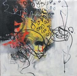 """Acrylic on canvas 14"""" x 14"""""""