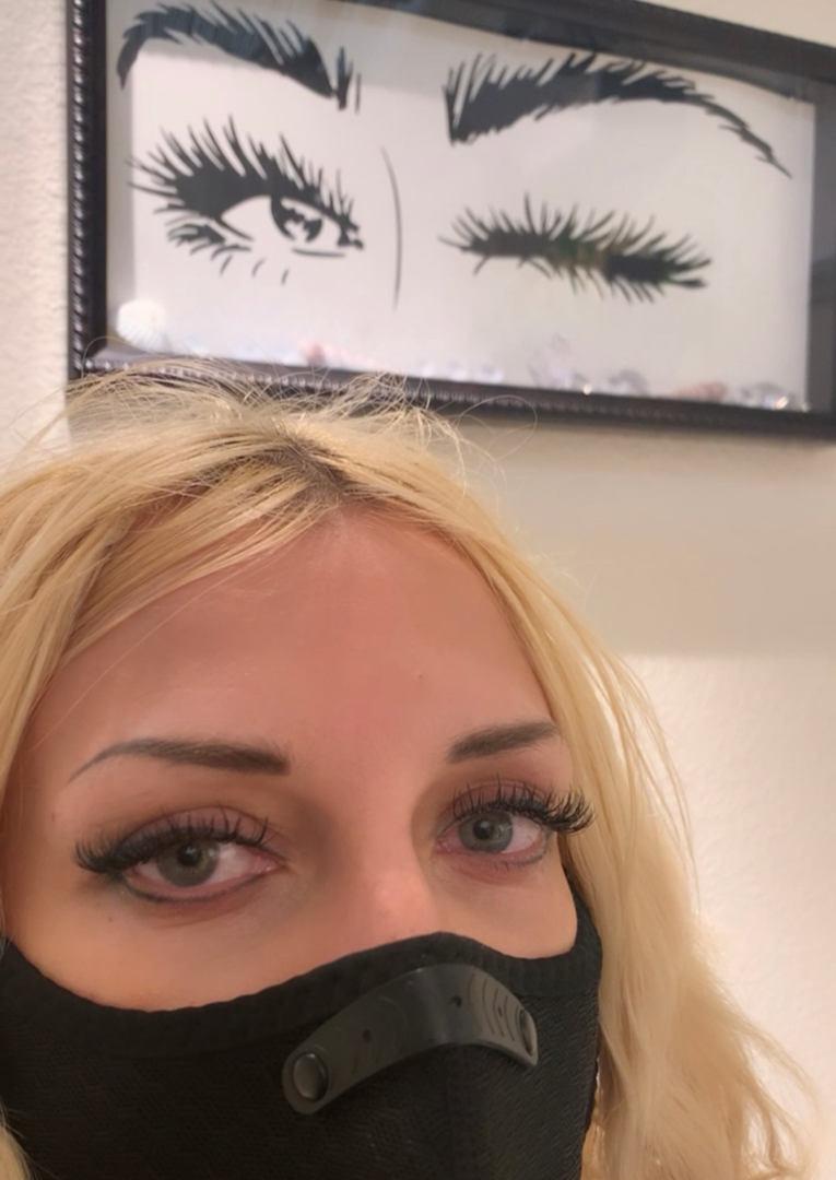 Volume Eyelash Extensions