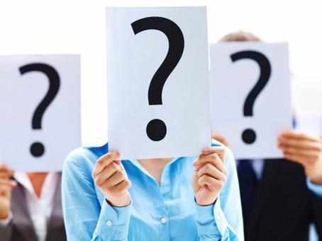 Perguntas ridículas não existem!