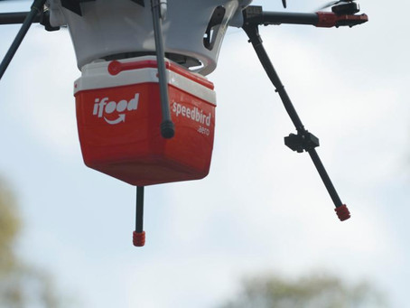Anac libera aval para iFood começar a testar delivery de comida com drones Logísticos