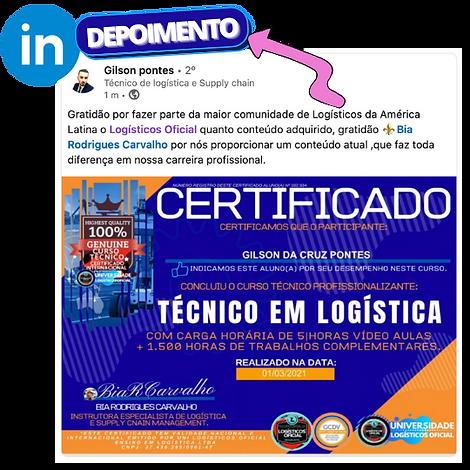 depoimento curso tecnico em logistica.pn
