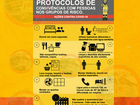 Prevenção para Logísticos COVID-19