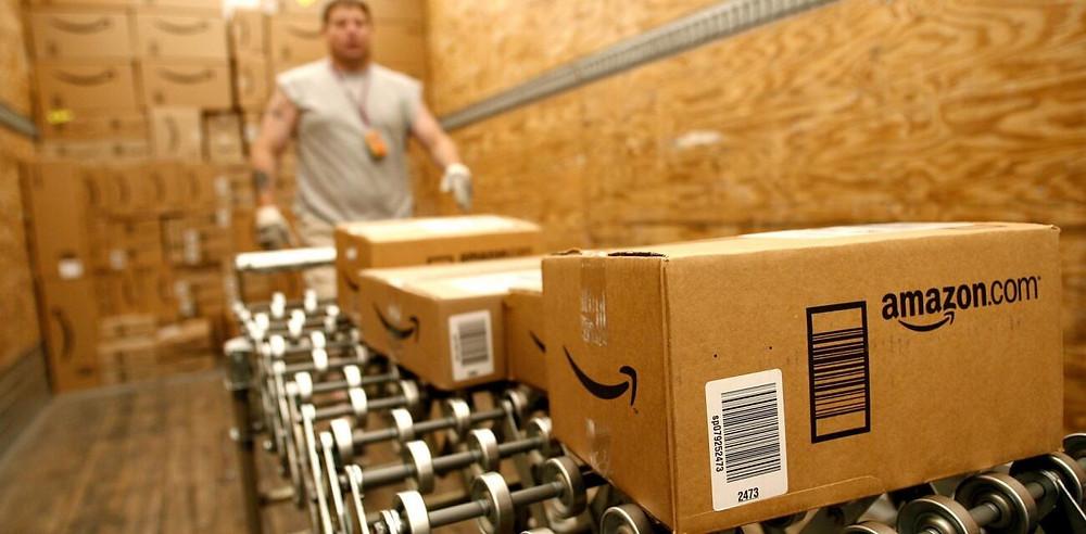 Foto: Centro de Distribuição Indústria Varejo da Amazon