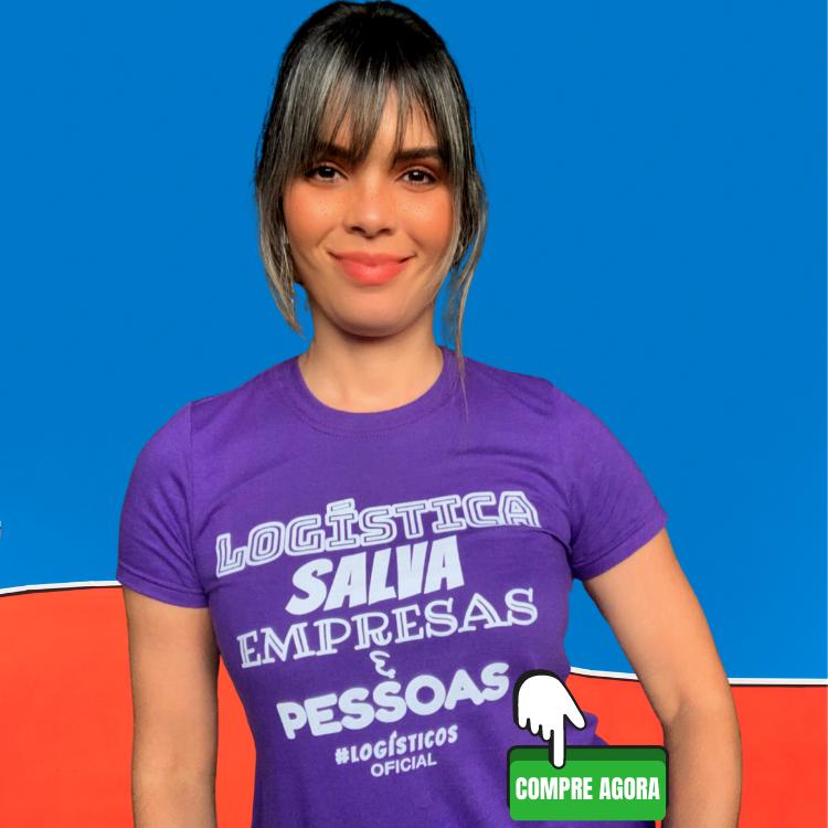 camiseta a logística salva empresas e pe