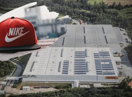 Em centro da Nike, DHL e GLP operam maior usina solar em um CD no País