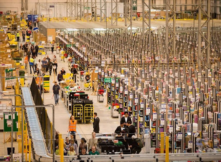 Gigante Amazon, abre novo Centro de Distribuição com 100 mil metros quadrados em Cajamar SP