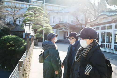 The Last Time The Four of Us Traveled Together (My Younger Aunt Noriko Died in 2018), Hakone, 2017