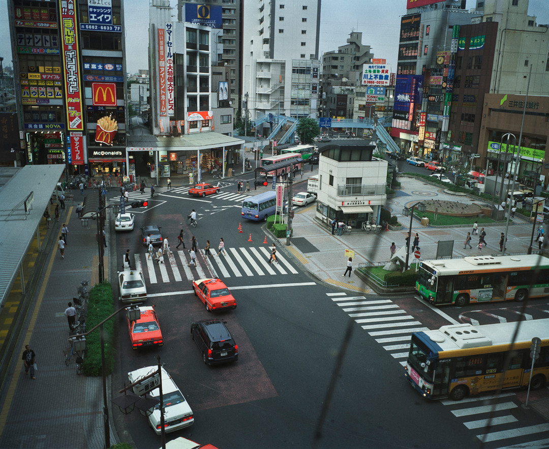 View from Our Favorite Restaurant in Tokyo, 2010