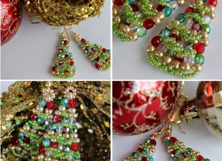 12 Days of Beaded Christmas Projects - Day 6