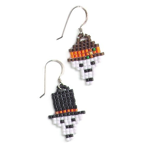 Mr. and Mrs. Bones Earrings