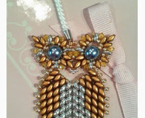Lucky Owl Phone Charm