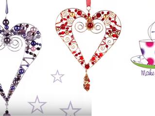 Wire Heart Ornament/Pendant