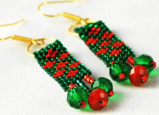 12 Days of Beaded Christmas Projects - Day 7