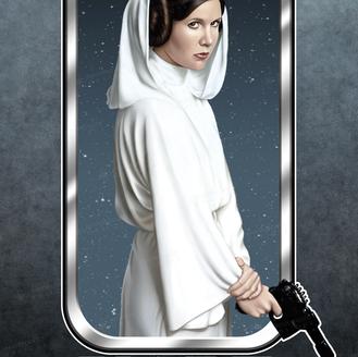 """""""Hope"""" Leia Organa of Alderaan."""