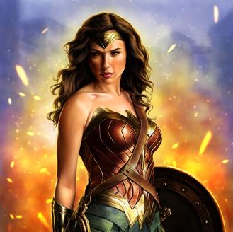 Wonder Woman - Diana, Princess of Themyscira