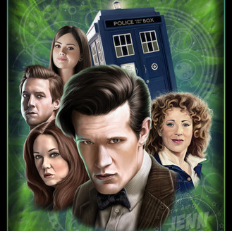 The Doctor and Companions - Doctor Who