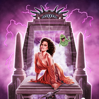 Only Zuul Pinup - Dana Barrett of Ghostbusters