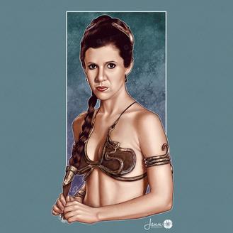 """""""Hutt Slayer - Princess Leia"""""""