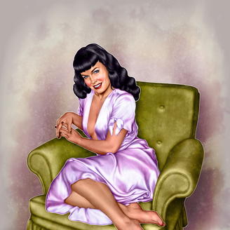Bettie Page Pinup