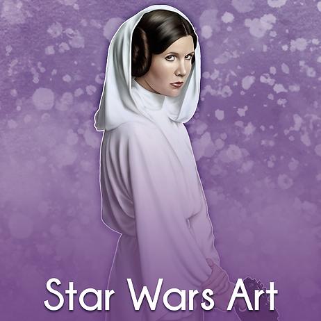 Princess Leia - Star Wars Art